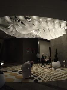 lobby of Sofitel