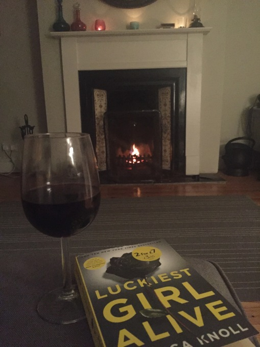 I can't decide what was better, the book or wine.